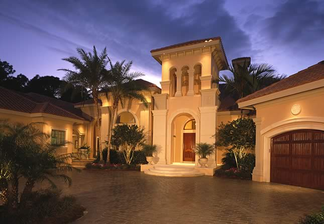 Luxury properties images for Florida house builders