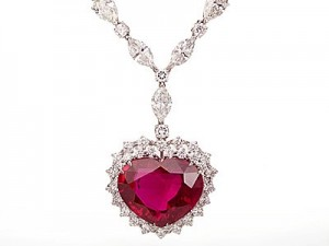 Most Expensive Burmese Ruby Necklace